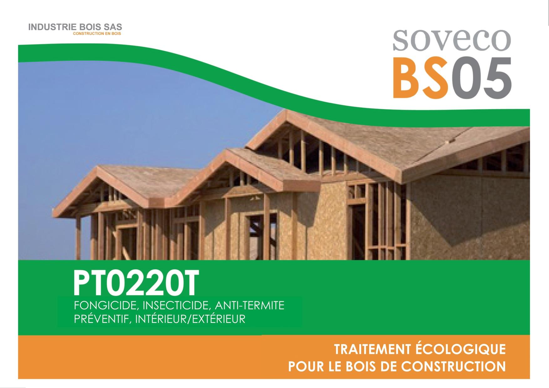 BS05 Traitementécologique insecticide fongicide curatif pour tous les types de bois de  # Traitement Bois Ecologique